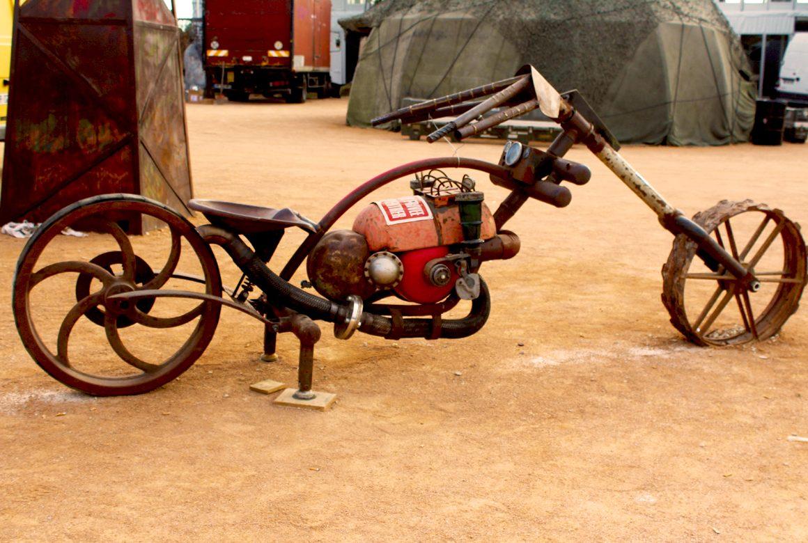 MOTOSCULTOR HELLFEST 2015