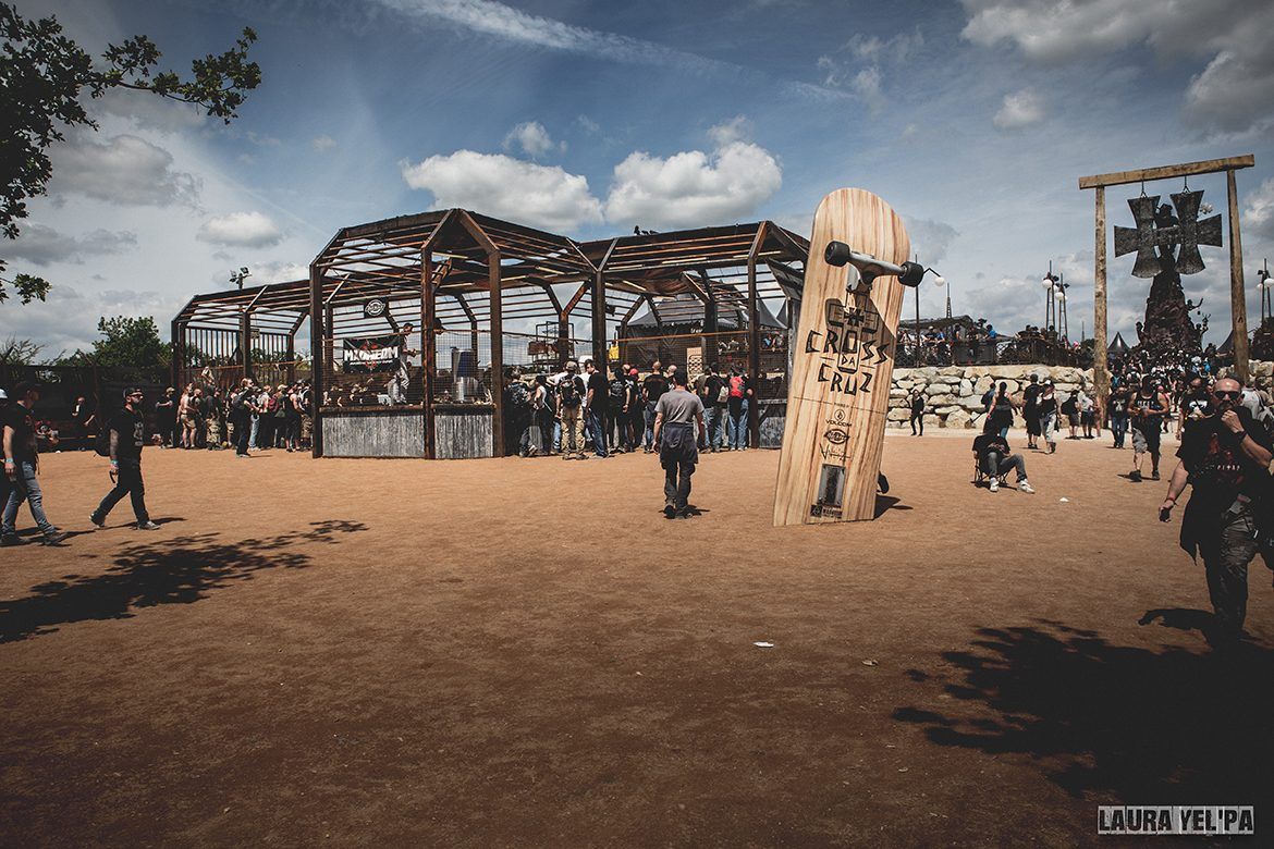 Madneom-warzone hellfest 2016 – skatepark cross da cruz