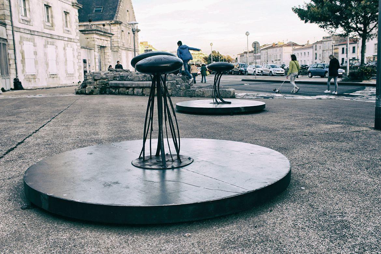 installation-meduses-musicales-carrefour-des-mobilites-la-rochelle