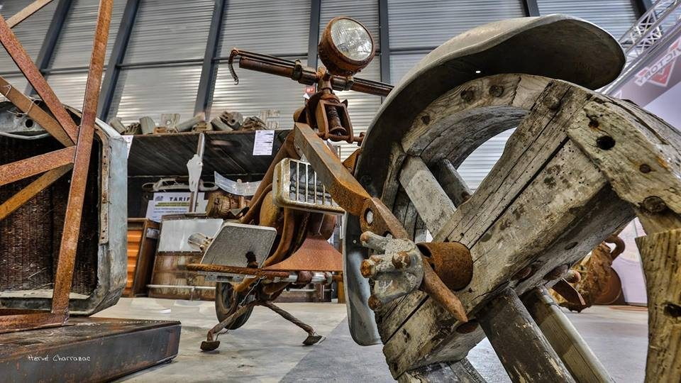 Salon Du  2 roues à Biarritz