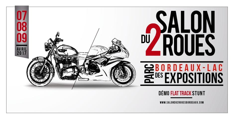 Salon du  2 roues  Bordeaux  7-8-9 avril