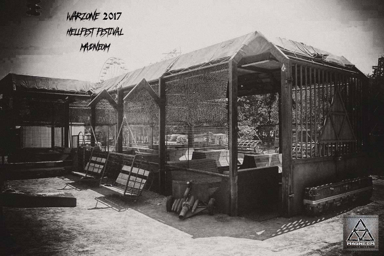 Hellfresh Warzone Madneom Street Art Park Hellfest Festival 2017