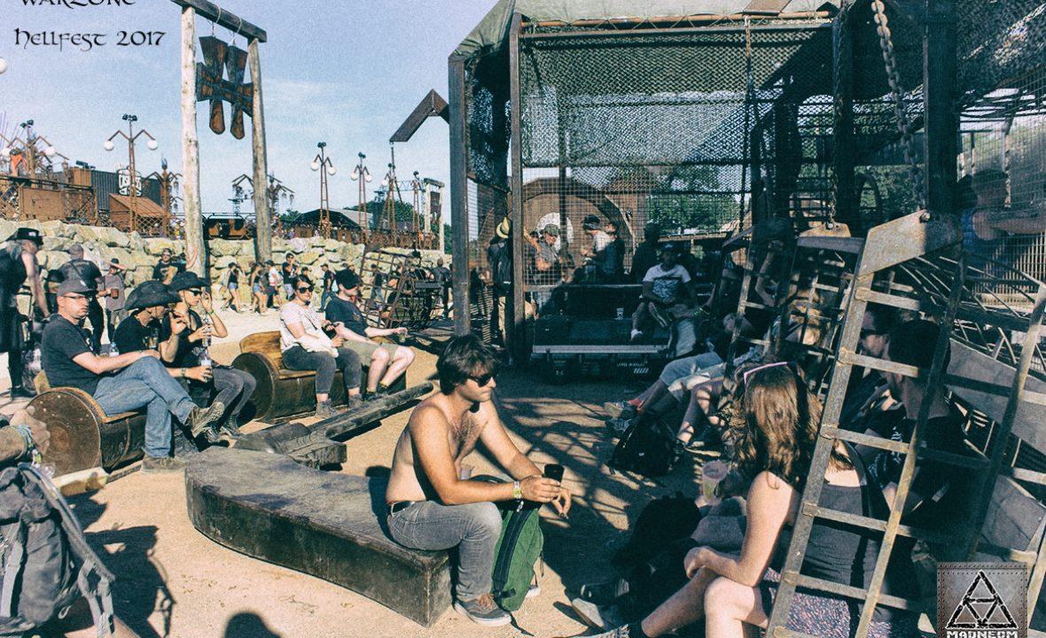 warzone hellfest 2017- cage balancelle madneom street art park
