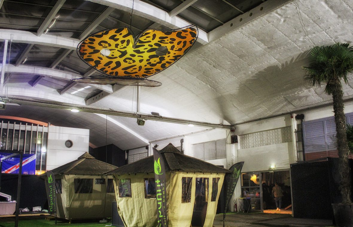 papillon madneom salon de la deco la rochelle 2017 hall jardin espace encan