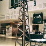 pylone madneom street art park salon de la deco la rochelle 2017 espace encan hall accueil