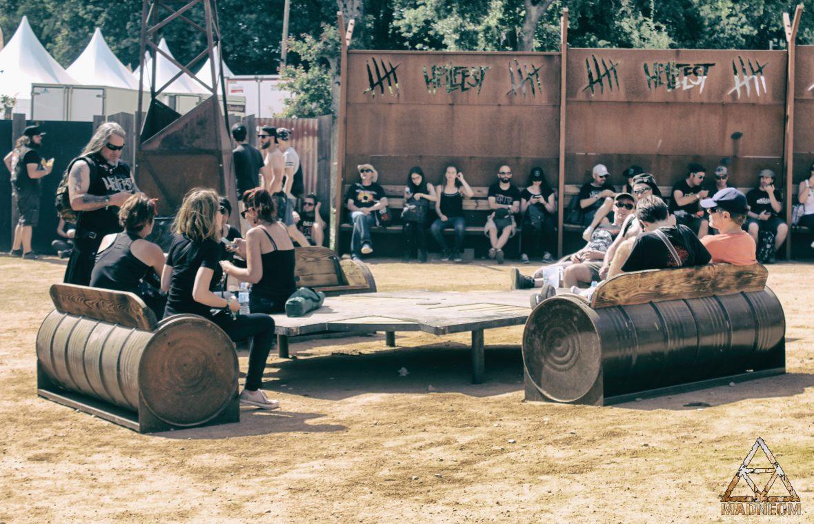 MADNEOM bancs futs hellfest 2018 warzone