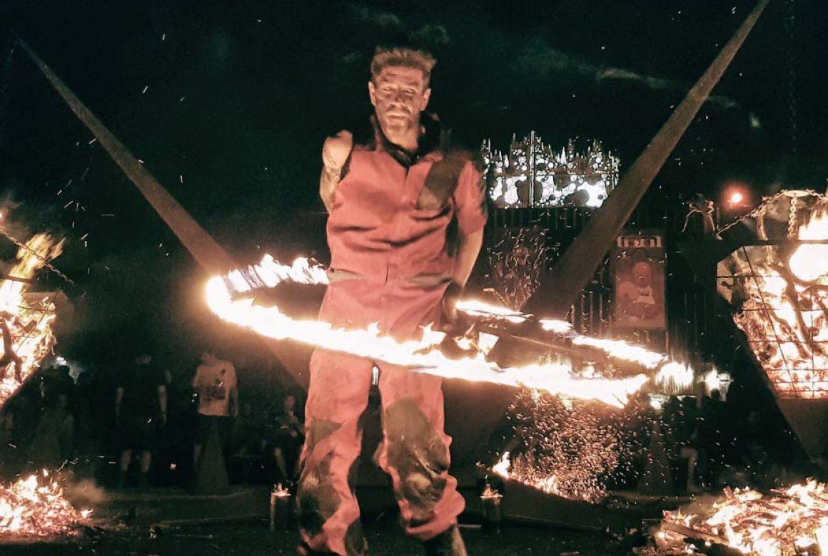 Pyramide de feu Madneom Hellfest 2019 Oliv Sound of fire