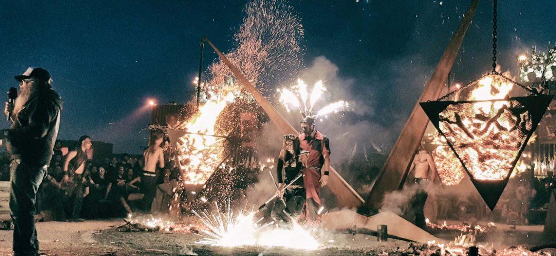 Pyramide de feu – Hellfest
