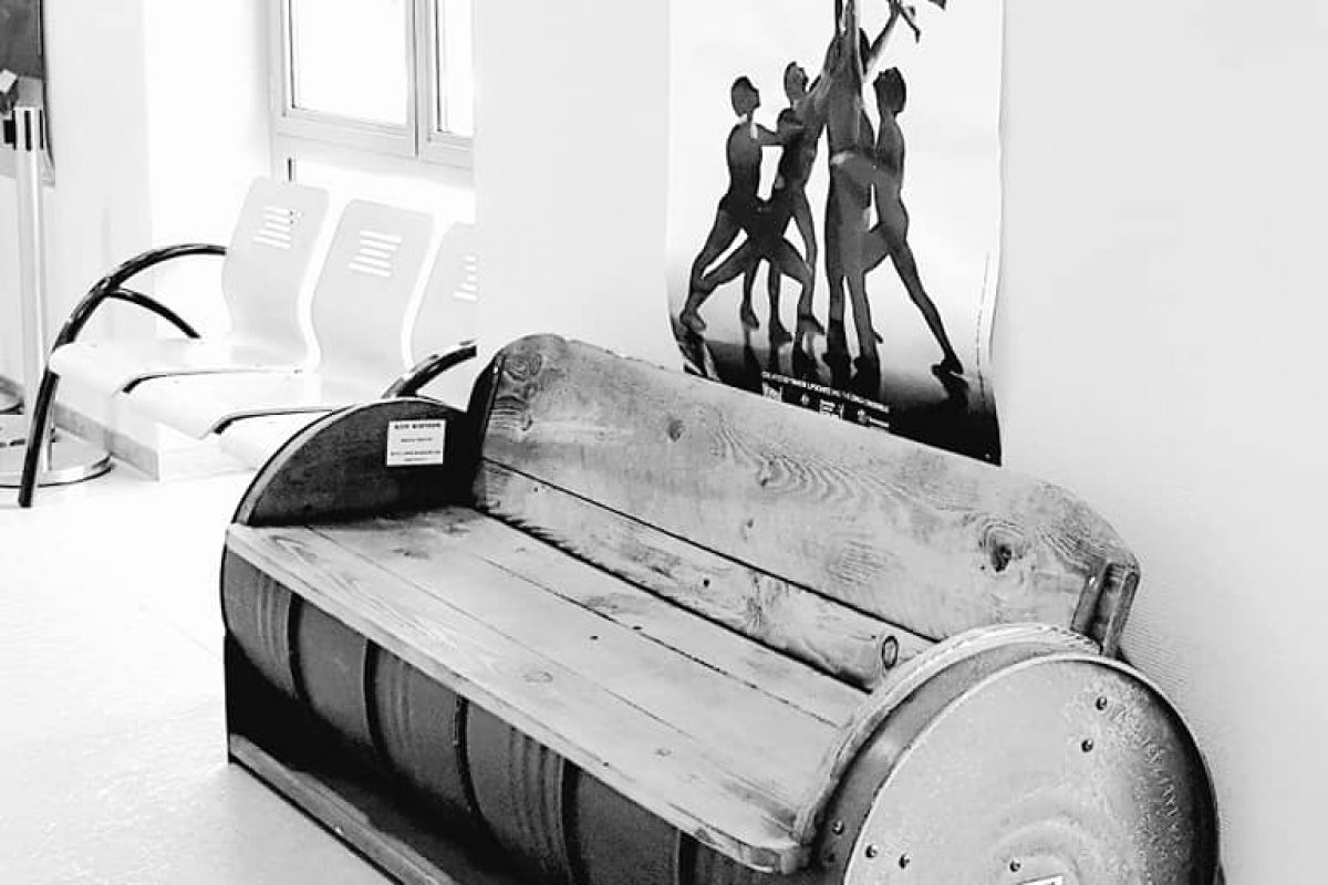 mobilier banc fut madneom salon deco et habitat Fontenay le Comte 2019