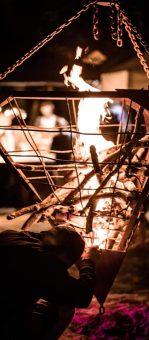 pyramide de feu madneom festival tribal elek 2019