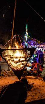 pyramide de feu madneom festival tribal elek 2019 andilly