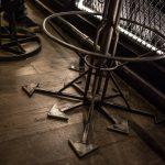 pied rose des vents tabouret metal madneom hellfest corner 2019