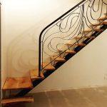 escalier metal chêne madneom 2019