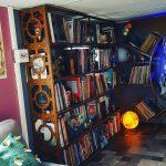 bibliothèque madneom steampunk 2021